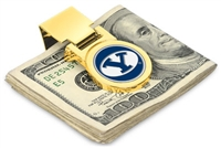 Brigham Young BYU Cougars Money Clip - Gold