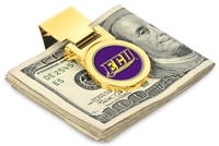 East Carolina Pirates Money Clip - Gold