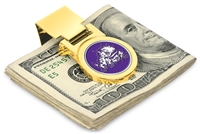 Texas Christian Horned Frogs TCU Money Clip - Gold