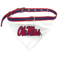 Mississippi Ole Miss Bandana - Small