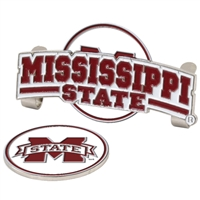 Mississippi State Bulldogs Slider Hat Clip Ball Marker