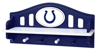 Indianapolis Colts Shelf with Pegs