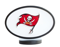 Tampa Bay Buccaneers Logo Art with Stand