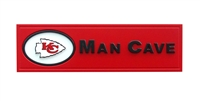 Kansas City Chiefs Man Cave Plaque