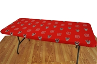 North Carolina State (NC State) Wolfpack 8' Table Cover
