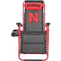 Nebraska Cornhuskers Zero Gravity Chair
