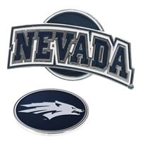 Nevada Wolfpack Slider Hat Clip Ball Marker