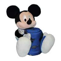 New York Knicks NBA Mickey Mouse with Throw Combo