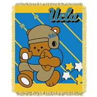 UCLA Bruins NCAA Triple Woven Jacquard Throw (Fullback Baby Series) (36x48)