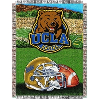 "UCLA Bruins NCAA Woven Tapestry Throw (Home Field Advantage) (48x60"")"""