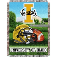 "Idaho Vandals NCAA Woven Tapestry Throw (Home Field Advantage) (48x60"")"""