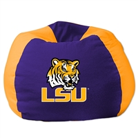 LSU Tigers NCAA Team Bean Bag (96 Round)