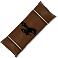 "Wyoming Cowboys NCAA Full Body Pillow (19x54"")"""