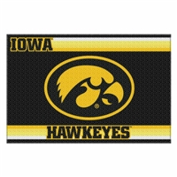 Iowa Hawkeyes NCAA Tufted Rug (Old Glory Series) (59x39)