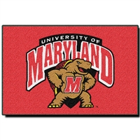 "Maryland Terps NCAA Tufted Rug (30x20"")"""