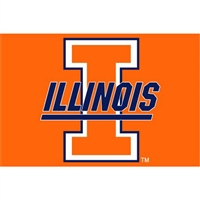 "Illinois Fighting Illini NCAA Tufted Rug (30x20"")"""