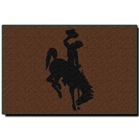 "Wyoming Cowboys NCAA Tufted Rug (30x20"")"""