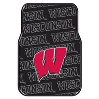 Wisconsin Badgers NCAA Car Front Floor Mats (2 Front) (17x25)