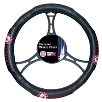 Alabama Crimson Tide NCAA Steering Wheel Cover (14.5 to 15.5)