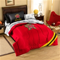 Maryland Terps NCAA Bed in a Bag (Contrast Series)(Twin)