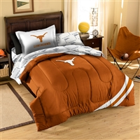 Texas Longhorns NCAA Bed in a Bag (Contrast Series)(Twin)