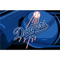 "Los Angeles Dodgers MLB Tufted Rug (59x39"")"""