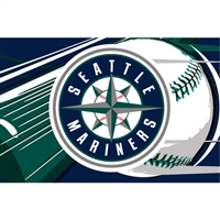 "Seattle Mariners MLB Tufted Rug (59x39"")"""