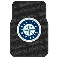 "Seattle Mariners MLB Car Front Floor Mats (2 Front) (17x25"")"""