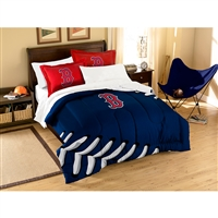 Boston Red Sox MLB Embroidered Comforter Twin/Full (Contrast Series) (64 x 86)
