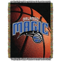 "Orlando Magic NBA Woven Jacquard Throw (48X60"")"""