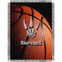 "Toronto Raptors NBA Woven Tapestry Throw (48x60"")"""