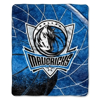 "Dallas Mavericks NBA Sherpa Throw (Reflect Series) (50x60"")"""