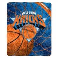 "New York Knicks NBA Sherpa Throw (Reflect Series) (50x60"")"""