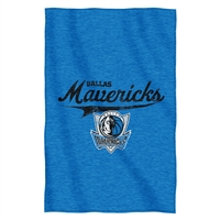 Dallas Mavericks NBA Sweatshirt Throw