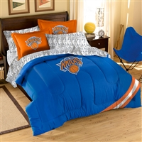 New York Knicks NBA Bed in a Bag (Contrast Series)(Full)