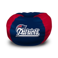 New England Patriots NFL Team Bean Bag (102 Round)""