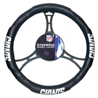 New York Giants Steering Wheel Cover (14.5 to 15.5)