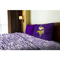 Minnesota Vikings NFL Twin Sheet Set (Anthem Series)