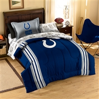 Indianapolis Colts NFL Bed in a Bag (Contrast Series)(Twin)