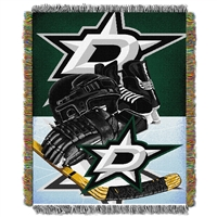 Dallas Stars NHL Woven Tapestry Throw (Home Ice Advantage) (48x60)