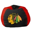 Chicago Blackhawks NHL Team Bean Bag (96in Round)