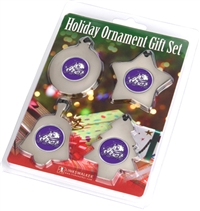 Texas Christian Horned Frogs TCU Holiday Ornament 4 Pack