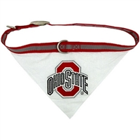 Ohio State Buckeyes Bandana - Medium