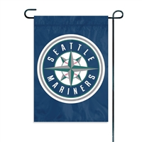 Seattle Mariners MLB Mini Garden or Window Flag (15x10.5)