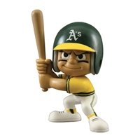 Oakland Athletics MLB Lil Teammates Vinyl Throwback Batter Figure (2 3/4inches Tall) (Series 2)