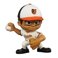 Baltimore Orioles MLB Lil Teammates Vinyl Pitcher Sports Figure (2 3/4 Tall) (Series 2)