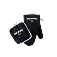 Chicago Bears NFL Oven Mitt and Pot Holder Set