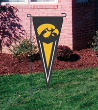 "Iowa Hawkeyes 34"" x 14"" Collegiate Yard Pennant"