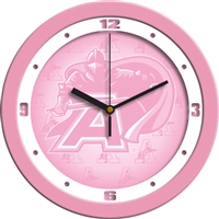"Army Black Knights12"" Wall Clock - Pink"