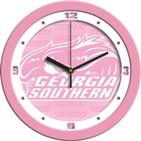 "Georgia Southern Eagles 12"" Wall Clock - Pink"